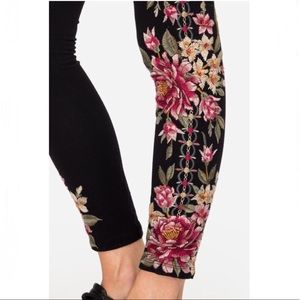 NWT Johnny Was Embroidered Joanna Leggings 🌺 2X